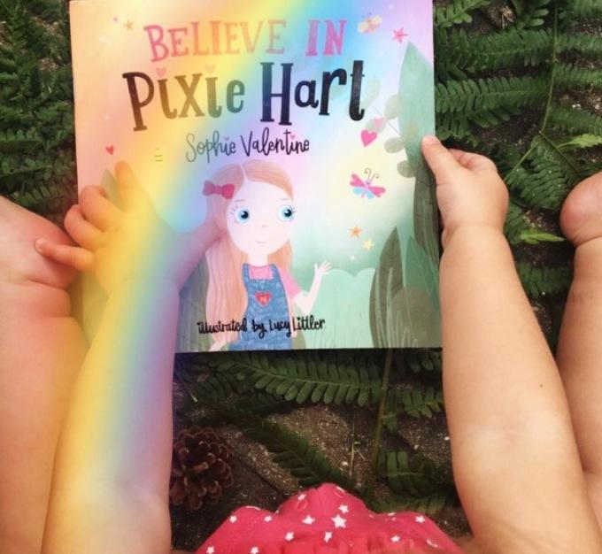 rainbow pixie hart picture