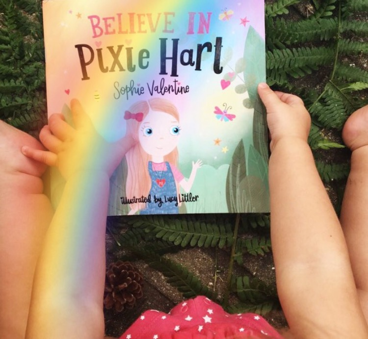 rainbow pixie hart picture